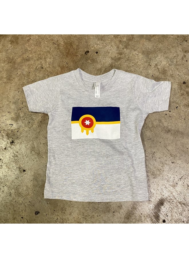 Tulsa Flag Toddler Tshirt