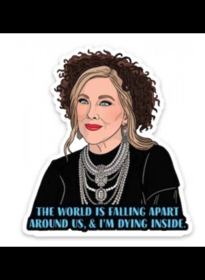 Moira Quote Sticker