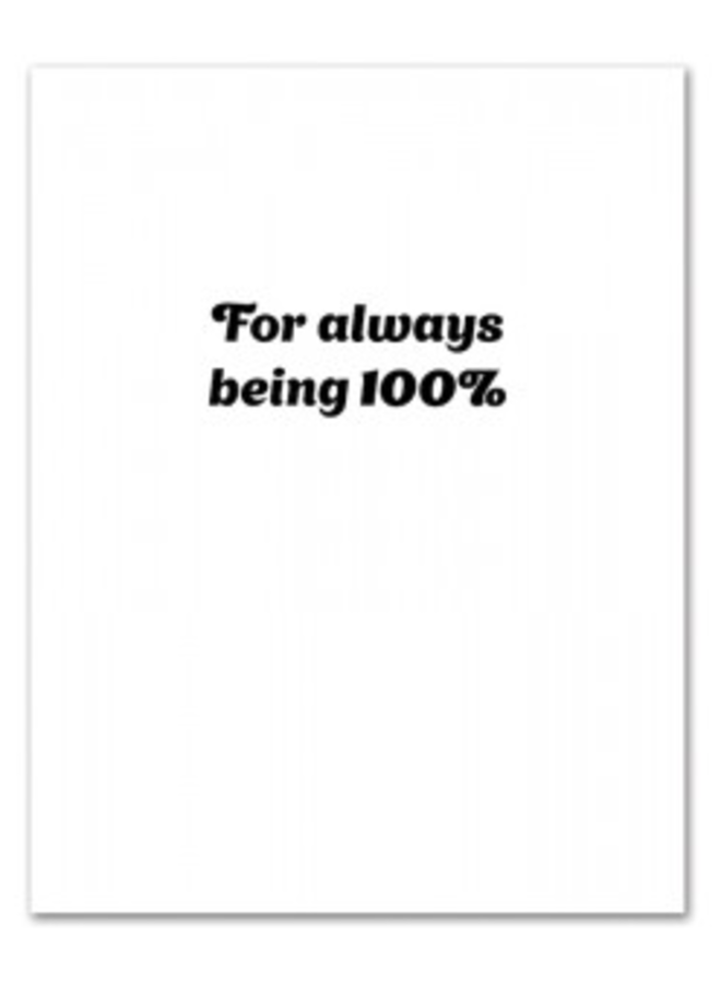Lizzo Thank You Card