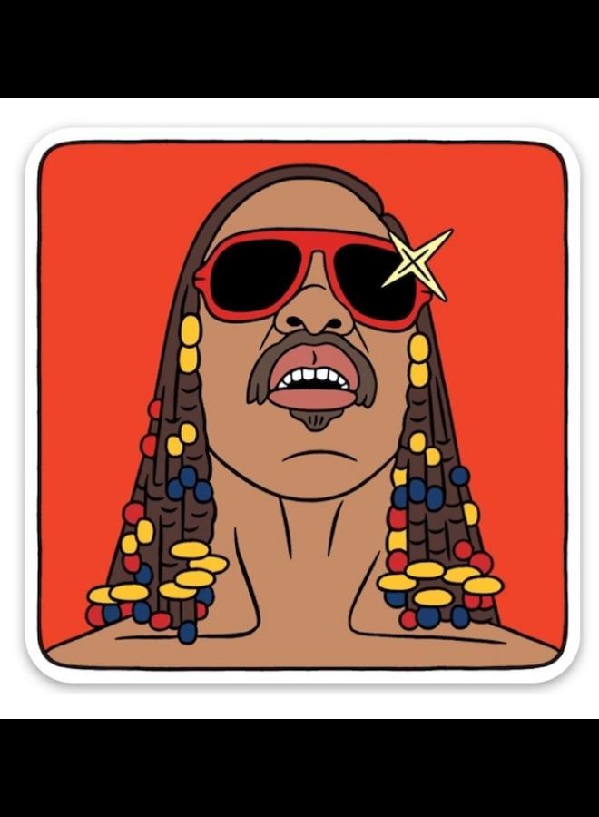 Stevie Wonder Sticker