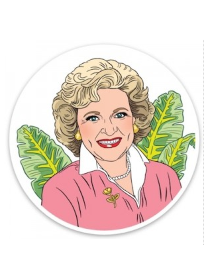 Betty White (The Found) Sticker
