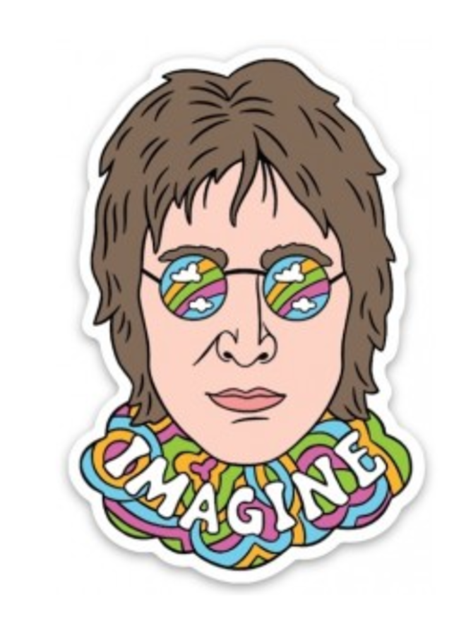 John Lennon Sticker