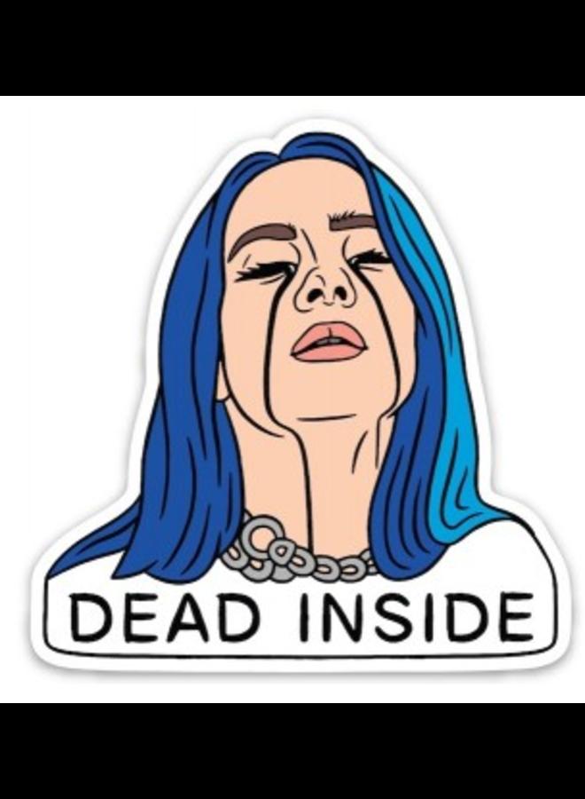 Billie Dead Inside Sticker