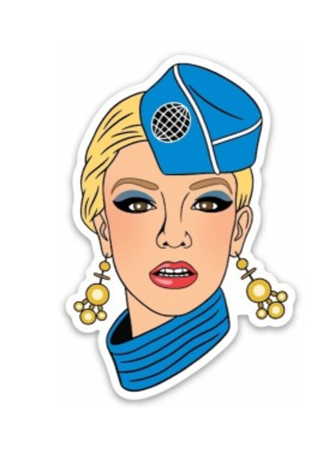 Britney (Toxic) Sticker
