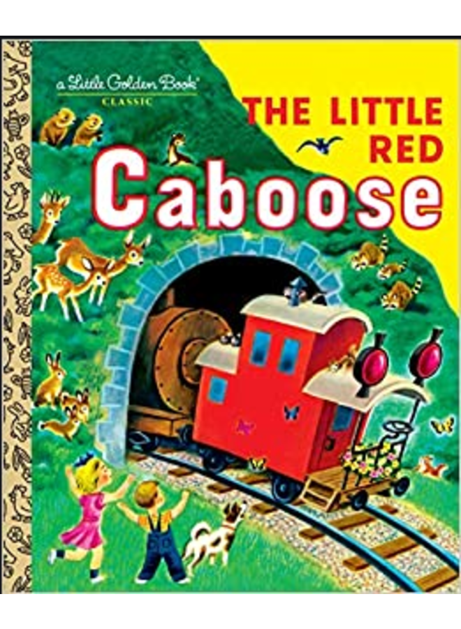 Little Red Caboose Little Golden Book