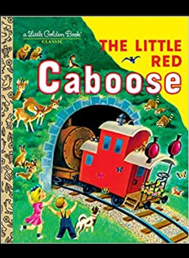 Little Red Caboose Little Golden Book