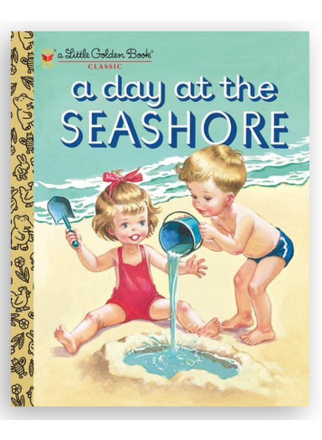 Day at the Seashore Little Golden Book