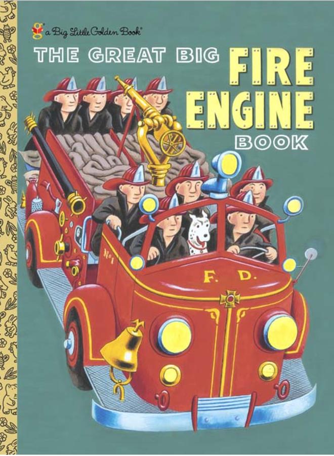The Fire Engine Book - Little Golden Book