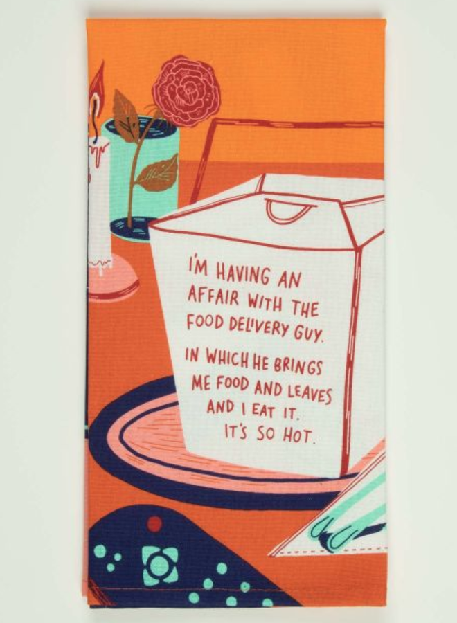 Food Delivery Dish Towel