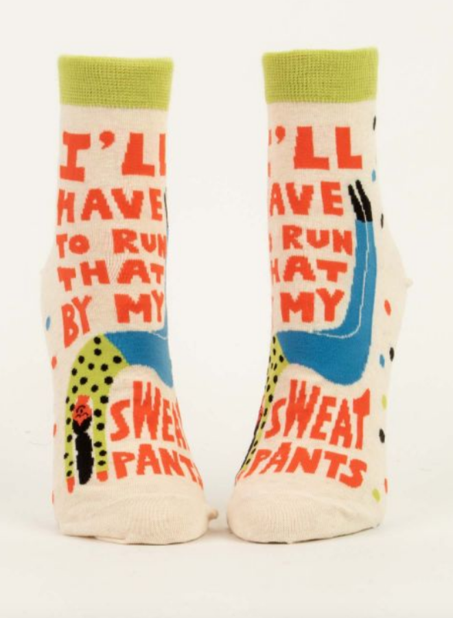 My Sweatpants Women's Ankle Socks