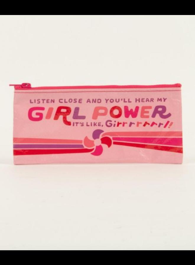 Hear My Girl Power Pencil Case