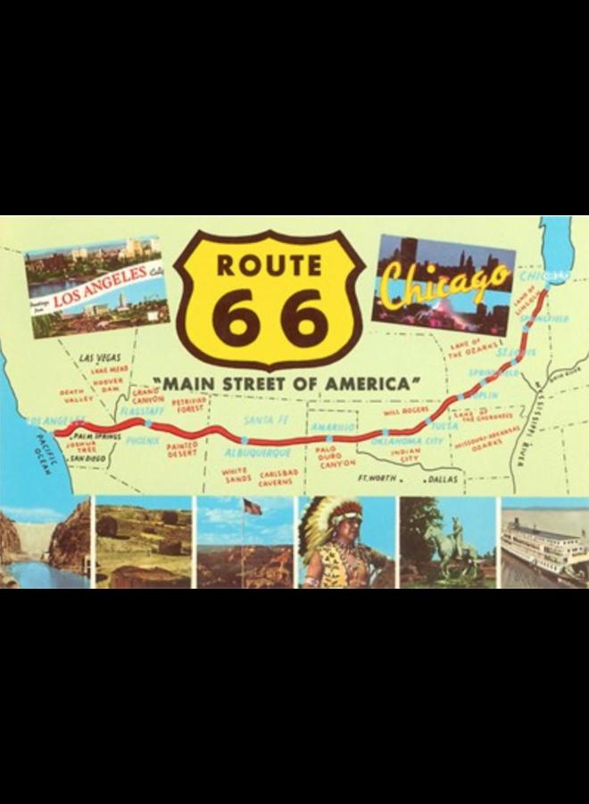 Main Street of America Postcard