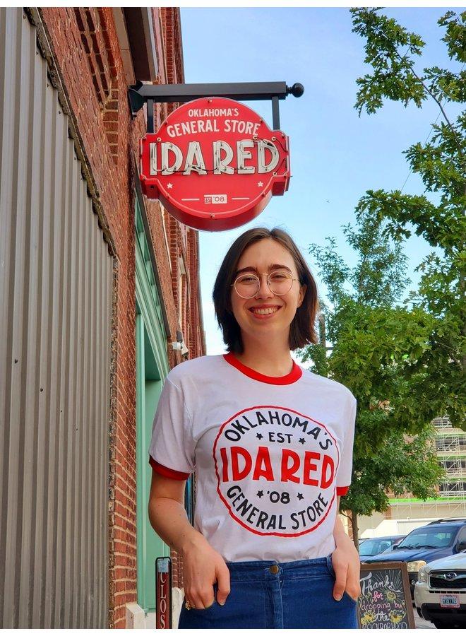 Ida Red Ringer Tshirt