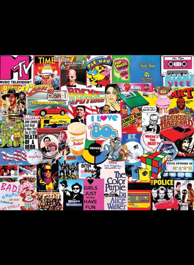 I Love The 1980's Puzzle 1000 pc