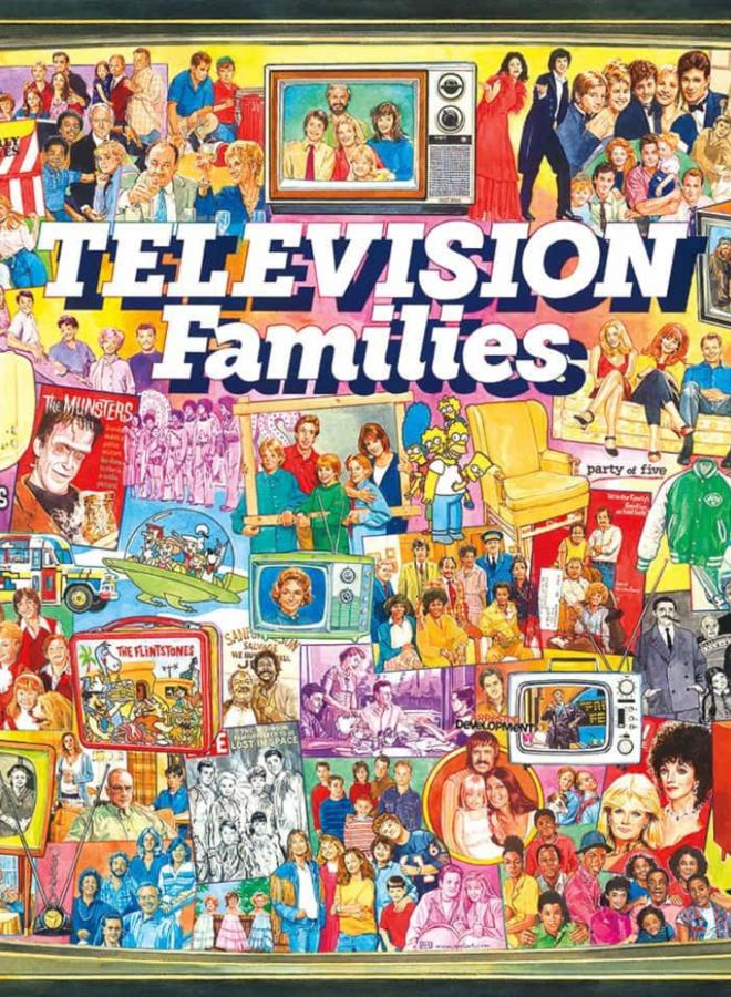 TV Families Puzzle 1000 pc