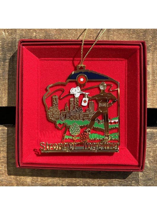 Covid in Tulsa Ornament 2020