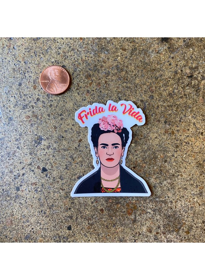 Frida La Vida Sticker