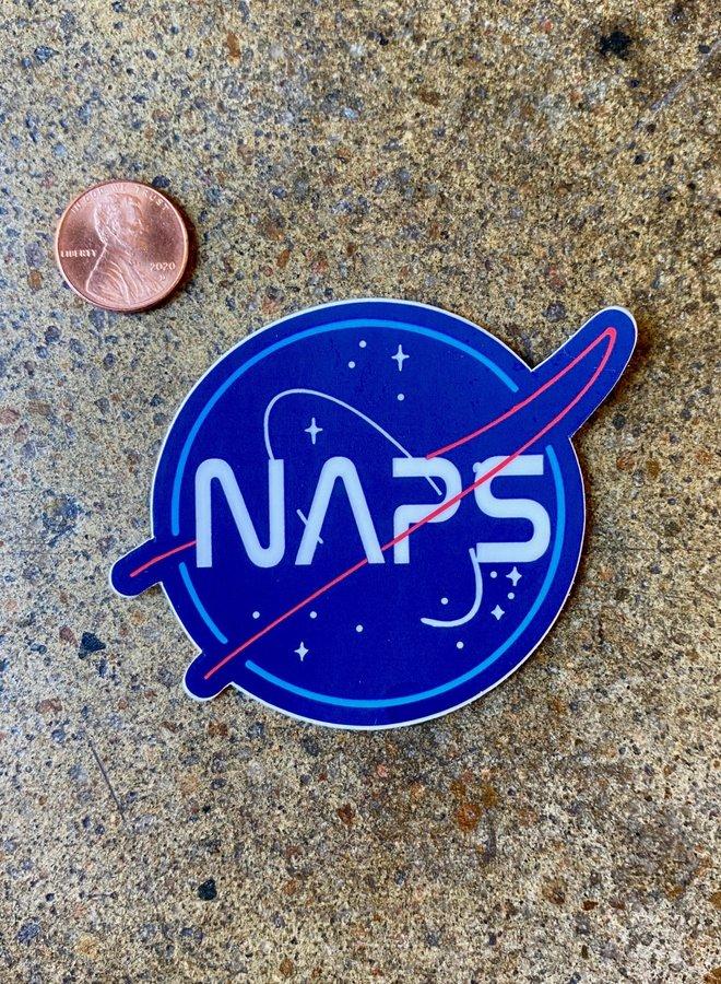 Naps Sticker