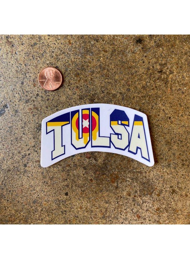 Tulsa Local Sticker
