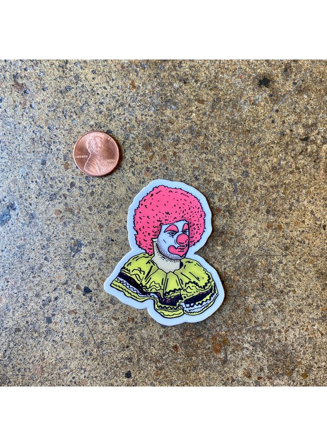 Bob The Clown Sticker