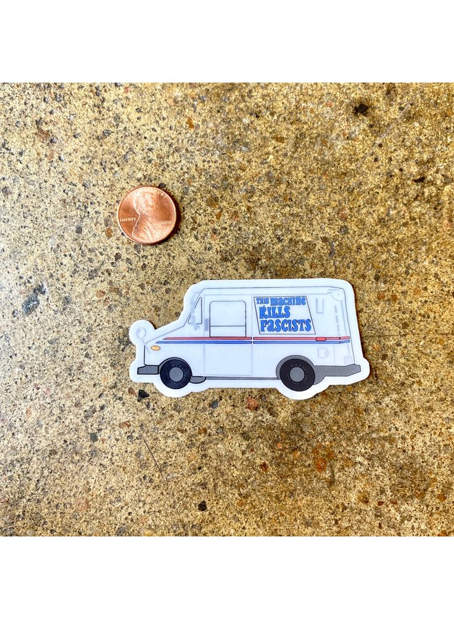 Save The USPS Mail Truck Sticker