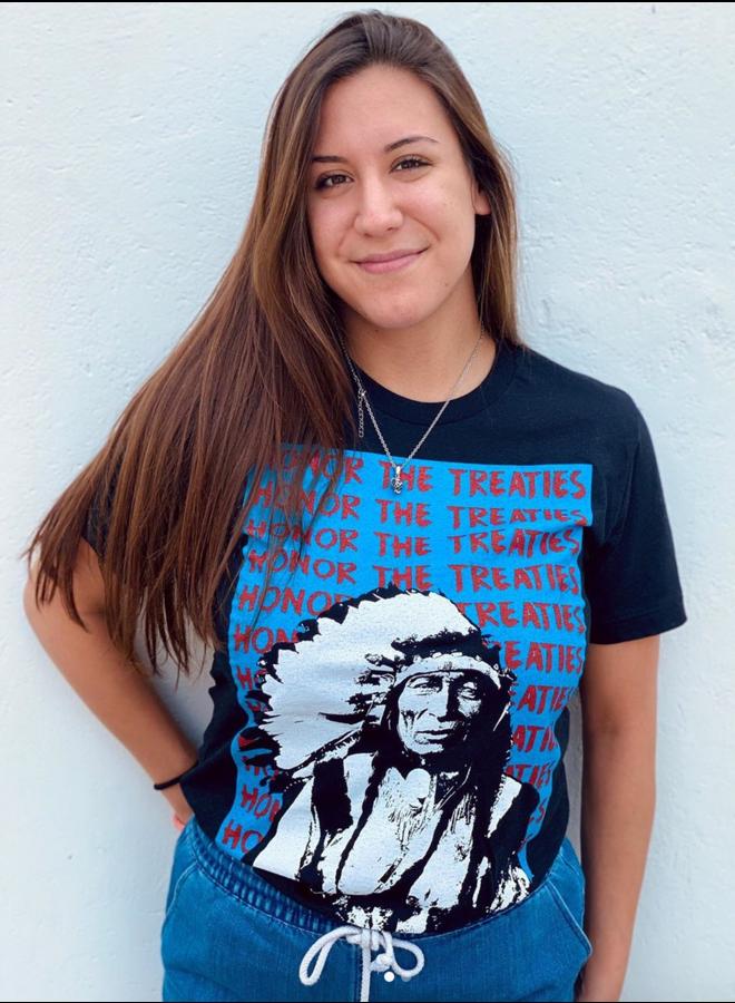 SPJ Honor the Treaties Tshirt