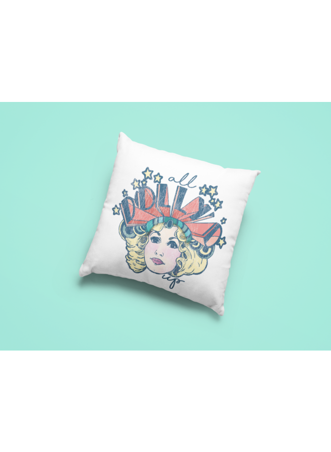All Dolly'd Up Pillow