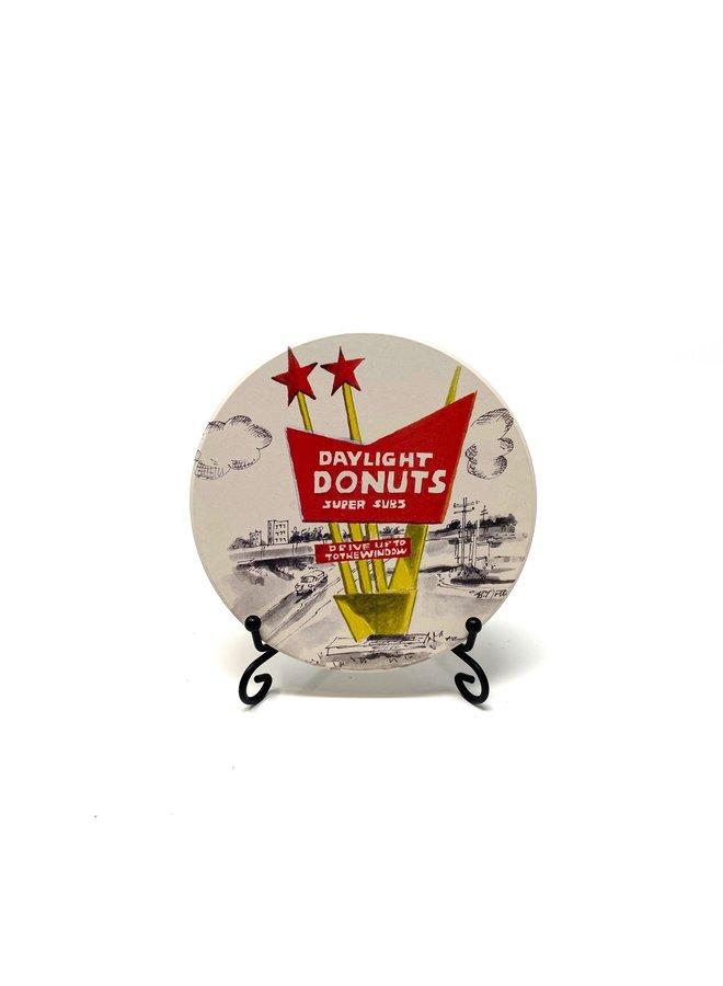 Daylight Donuts Coaster