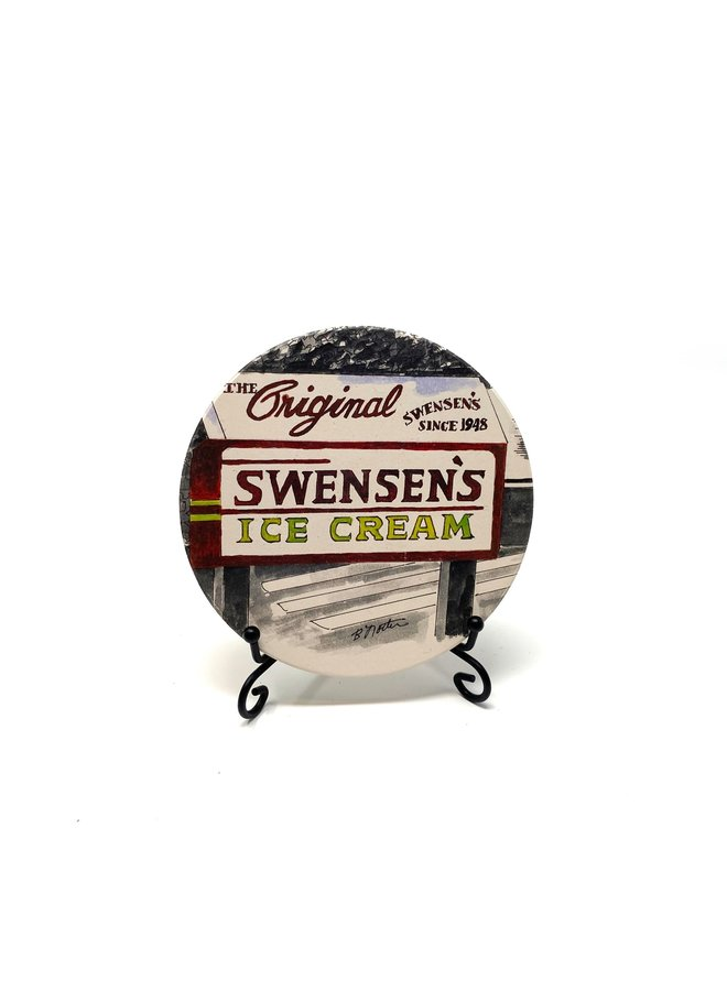 Swensens Ice Cream Coaster