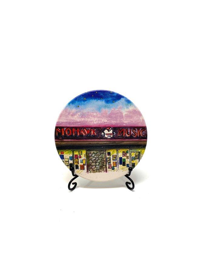Mohawk Music Coaster