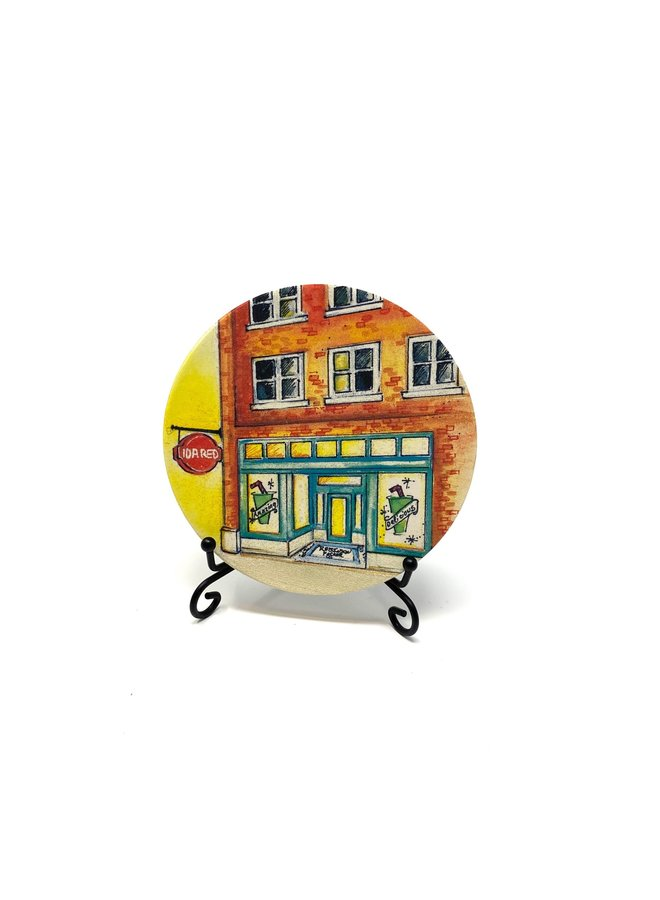Ida Red Main Street Coaster
