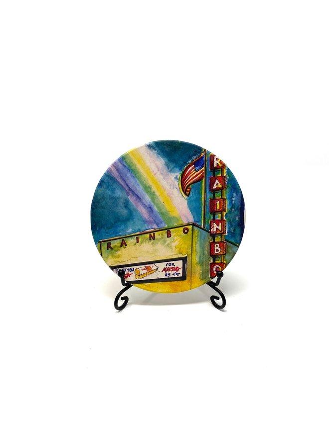 Rainbo Bread Coaster