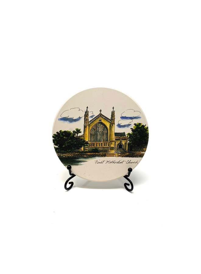 First Methodist Church Coaster