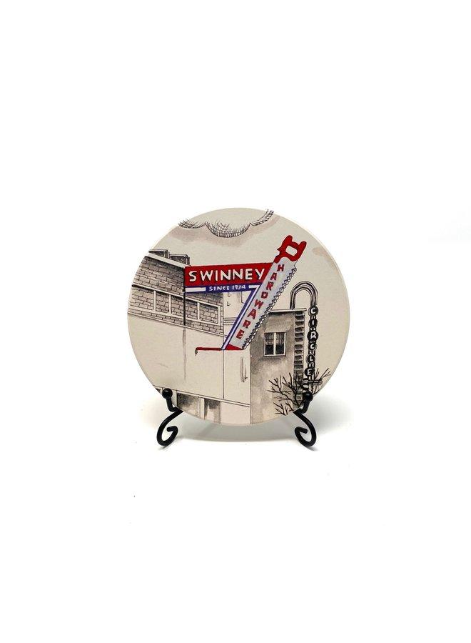 Swinney Hardware Coaster