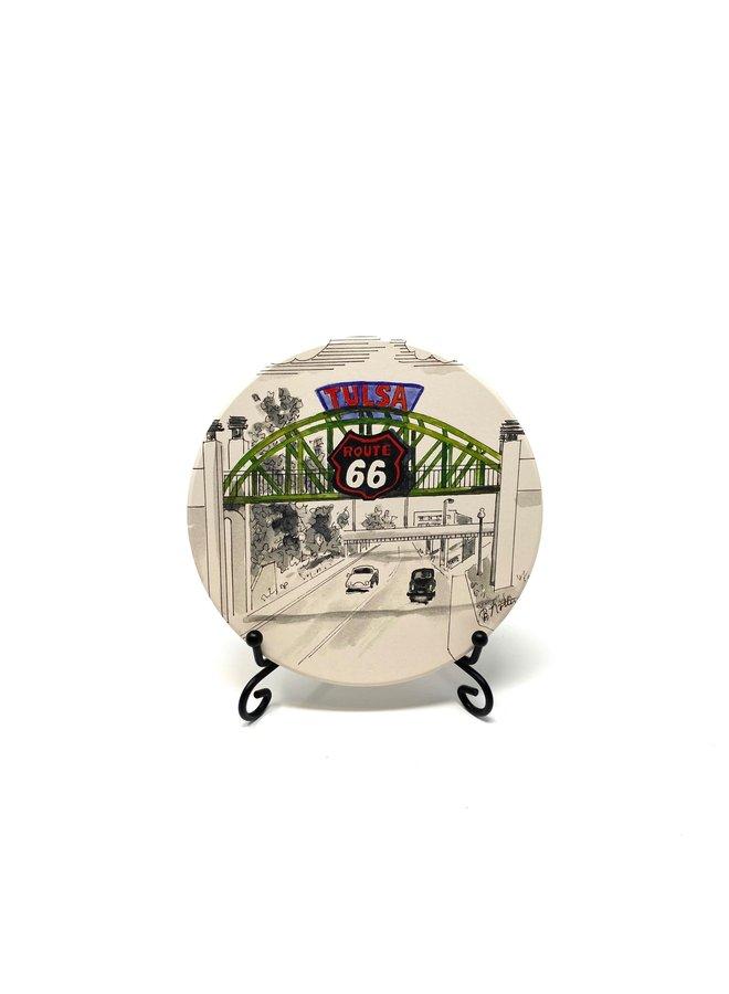 Tulsa Route 66 Bridge Coaster