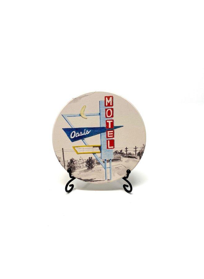 Oasis Motel Coaster