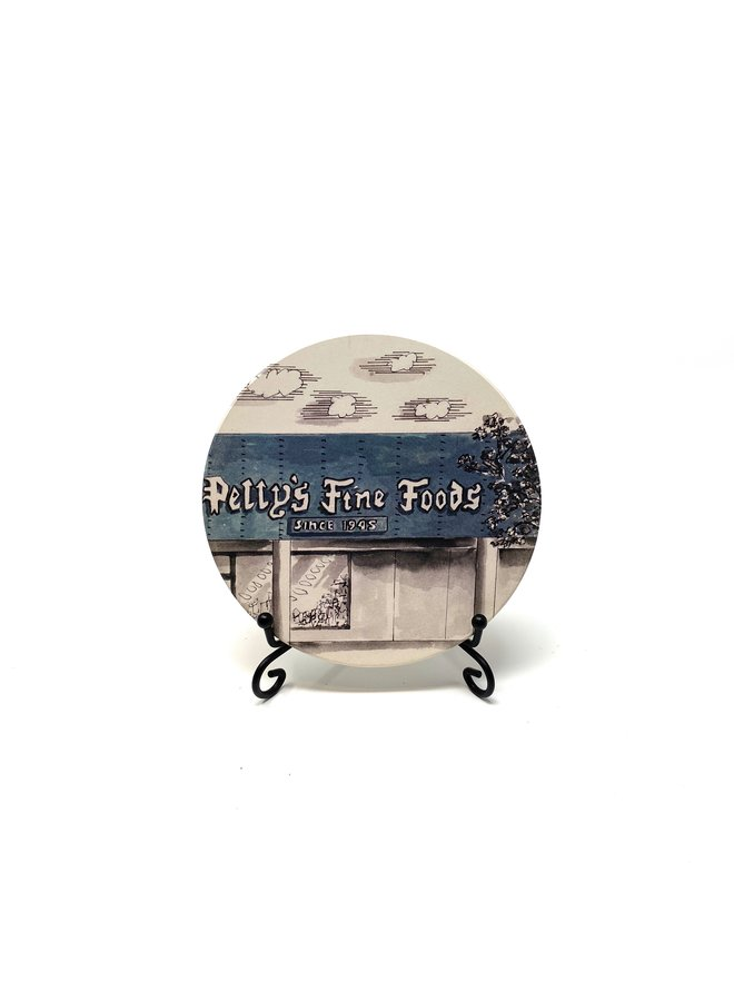 Petty's Fine Foods Coaster