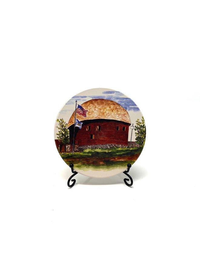 Round Barn Coaster