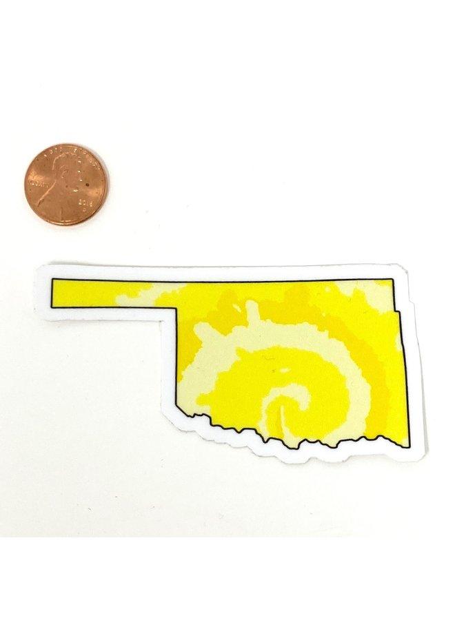Oklahoma Yellow Sticker