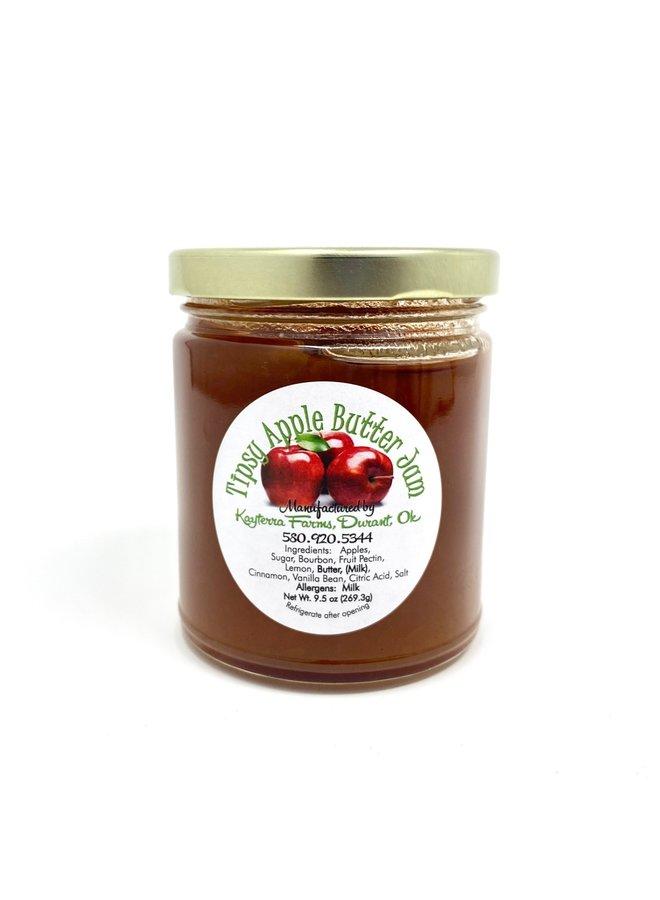 Tipsy Apple Butter Jam