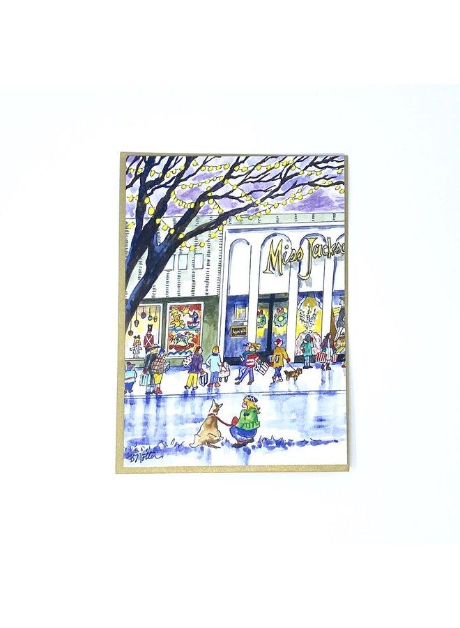Miss Jackson's Holiday Card