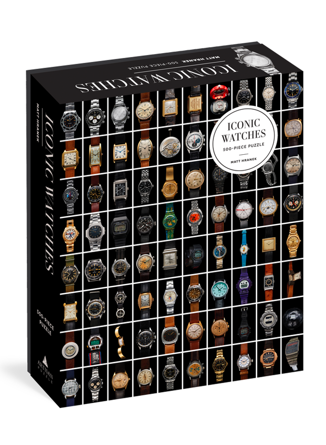 Iconic Watches 500pc Puzzle