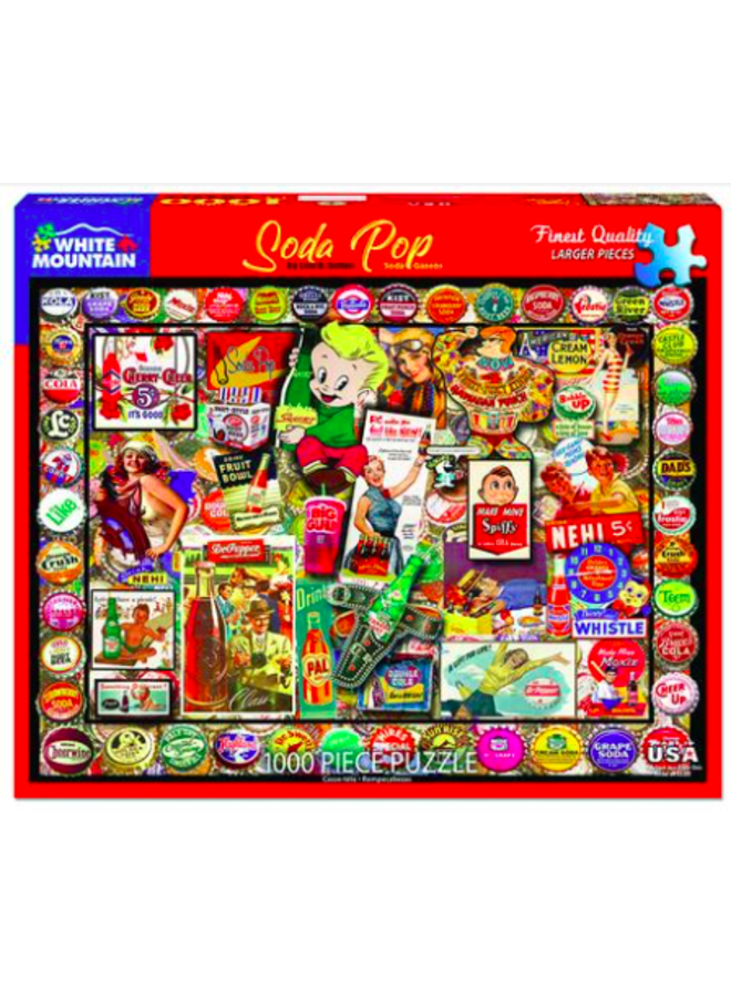 Soda Pop Puzzle - 1000 Pc