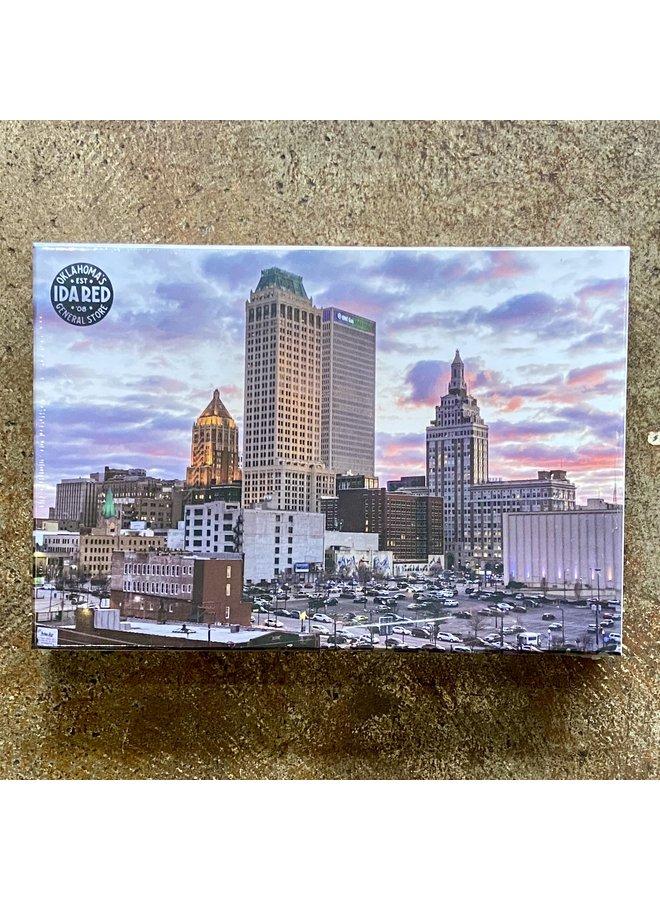 Tulsa Skyline Photo 500pc Puzzle
