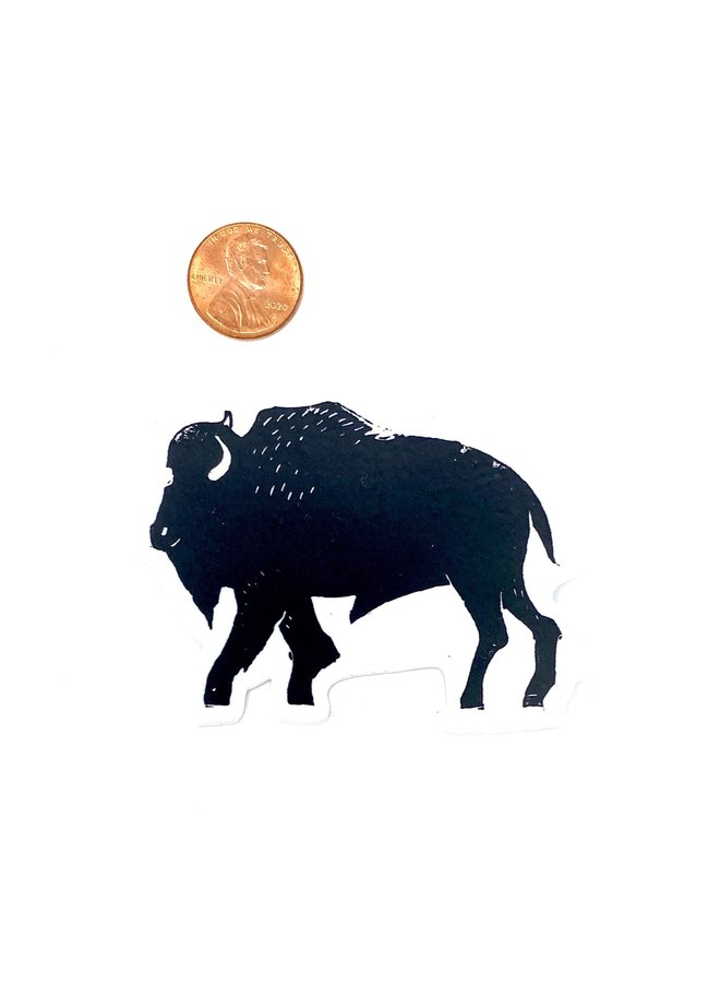Buffalo Bison Nature Sticker