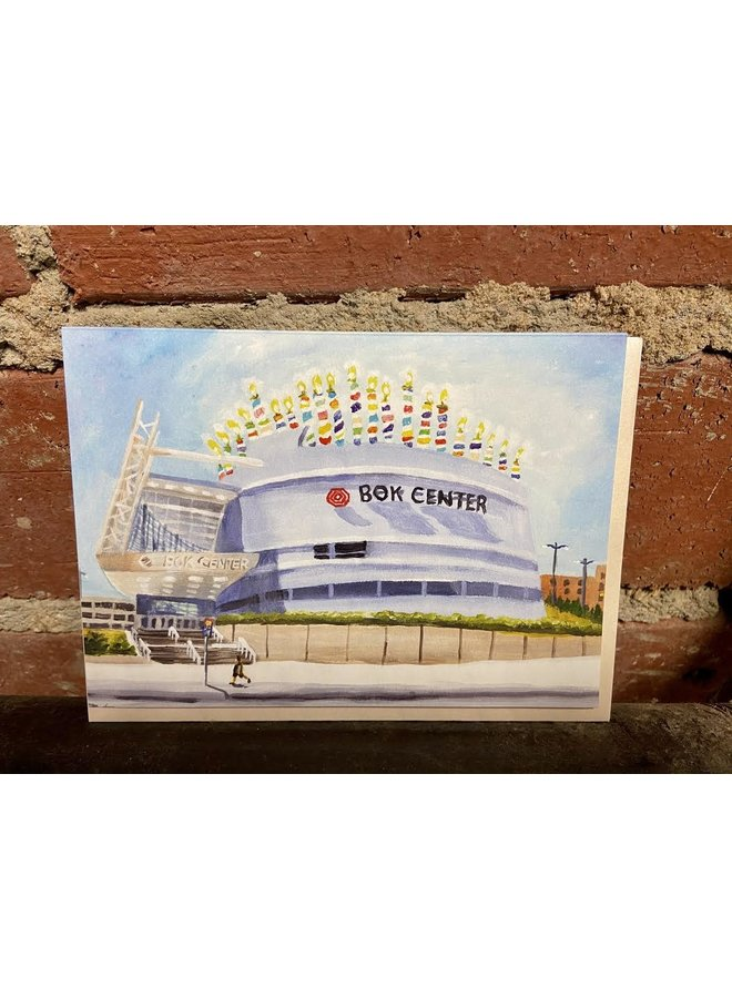 BOK Center Birthday Card