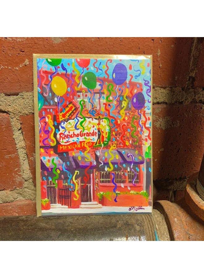 El Rancho Grande Birthday Card