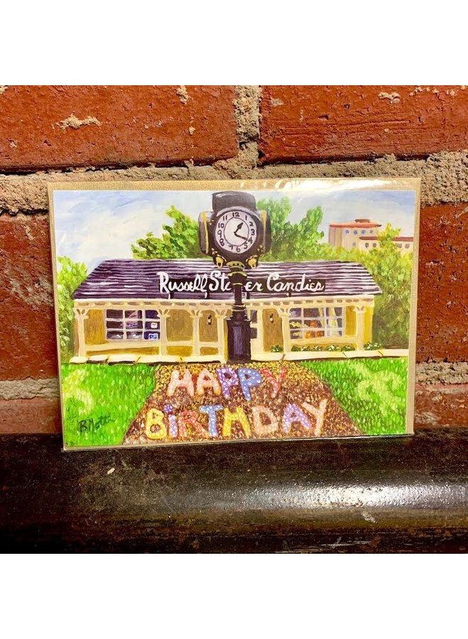 Utica Square Birthday Card