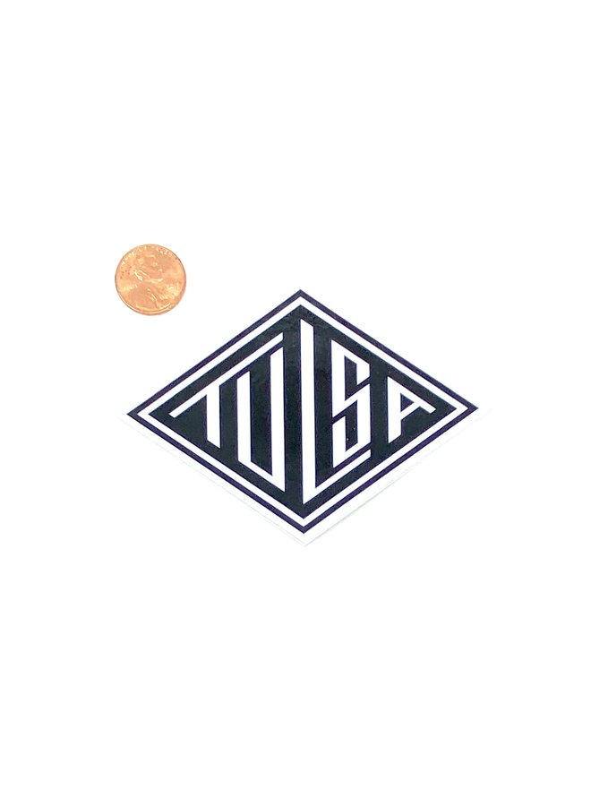 Tulsa Diamond Sticker
