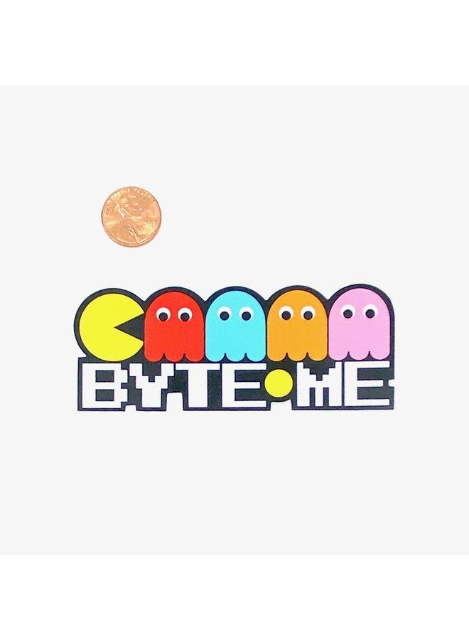 Byte Me Sticker